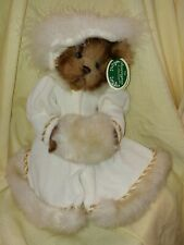 Victoria, The Bearington Collection Stuffed Bear NWT NWB