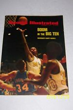 1972 Sports Illustrated MICHIGAN Wolverines vs NOTRE DAME Campy RUSSELL No Label