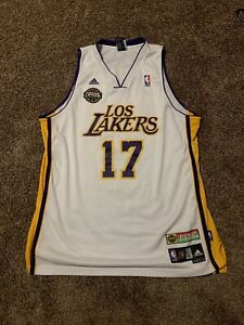 Rare Vintage Los Angeles Lakers Andrew Bynum Jersey