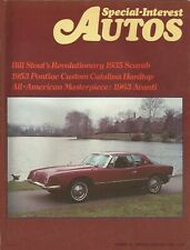 SPECIAL-INTEREST AUTOS 1976 JAN #32 - AVANTI SPECIAL, STOUT SCARAB,'53 CATALINA