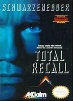 Total Recall Nintendo NES Game Used