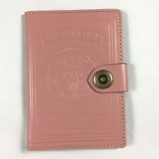 Villini Pale Pink Leather Passport Holder New in Package