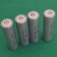 4pc IFR 18650 3.2V LiFePO4 battery 1500mAh energy type high temperature flatcap