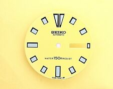 NEW SEIKO DIAL FOR SEIKO 6309 7290 YELLOW MENS SERIES DIVERS WATCH NR-51