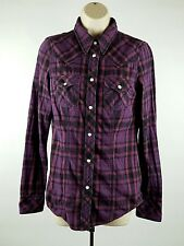 True Religion Mens Western Embroidered Pearl Snap Shirt Sz Small