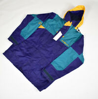 Vintage 90s Henri Lloyd Azores Sailing Colour Block Jacket Size Medium Oversize