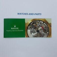 Rolex Vintage Factory Service Booklet NEW NOS GENUINE ORIGINAL
