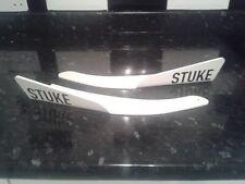 STUKE bumper canards winglets splitter. honda ek9 ek4 dc2 eg ep3 civic etc WHITE