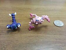 1.5~2inches pokemon plastic figure set(lot)of Skorupi Drapion