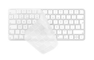 Ultra Thin Transparent TPU Keyboard Cover for iMac 24 inch Magic Keyboard 2021