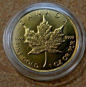 Canada. 2008 Maple Leaf 1 oz. .9999 Fine Gold $50. Bullion Coin