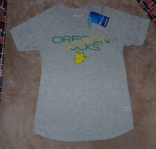 NEW NCAA Oregon Ducks T Shirt Women Ladies S Small Champion NEW NWT