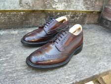 CHURCH BROGUES – BROWN SHELL CORDOVAN – UK 7 – GRAFTON - EXCELLENT CONDITION