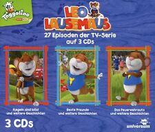 LEO LAUSEMAUS: HÖRSPIELBOX   3 CD NEU