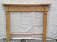 Antique Georgian Wooden Mantel #1003
