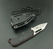 SOG Fishing Camping Outdoors Survival Pocket Straight Blade Knife Instinct Mini