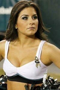 PHILADELPHIA EAGLES sexy NFL CHEERLEADER 🏈 4x6 GLOSSY PHOTO 🏈 hot candid #A83