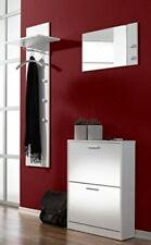 3tlg. Flur-Garderobe Dielen-Set Spiegel Schuhschrank Wandpaneel Torino UVP199?1d
