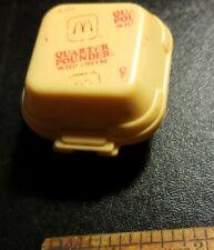 Vintage McDonalds Happy Meal 1988 Quarter pounder  transformer.