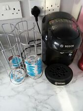 Bosch Tassimo 2 Cups Coffee & Espresso Combo - Real Black with holder
