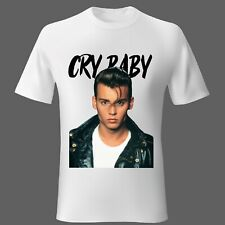 Mens t-shirt SMALL Movie Cry Baby Johnny Depp Music Comedy Unisex Woman UK