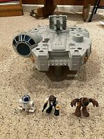 STAR WARS MILLENNIUM FALCON VEHICLE KENNER Near Complete
