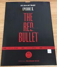 BTS - [The Red Bullet Program book] 2014 LIVE TRILOGY EPISODE Ⅱ KPOP Rare Goods