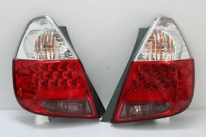 1Pair Honda 2001-07 GD JAZZ FIT GD1 GD3 GD5 Ichiko OEM Rear LED Tail Lamp Lights