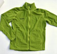 MAMMUT Fleece Jacke Outdoor Freizeit grün TECNOPILE Gr.M