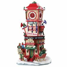 Lemax Christmas Village House Countdown Clock Tower Christmas Gift # 73333