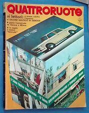 39628 Quattroruote n. 122 a. XI 02/1966 - Fiat 1100 - NSU Prinz 1000S
