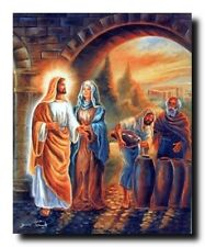 Jesus Christ the First Miracle At Wedding Christian Spiritual Art Print (16x20)
