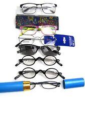 +1.50, Mixed Lot of 7 NEW Reading Readers Fashion Eyeglasses ATL9/19
