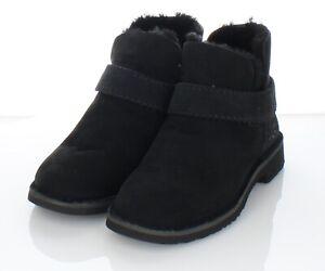 Z51 NEW $150 Women's Sz 6 M Ugg McKay Suede Water Resistant Bootie In Black