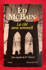 La cité sans sommeil - Ed McBAIN