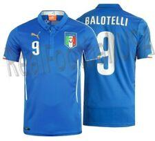 PUMA MARIO BALOTELLI ITALY HOME JERSEY FIFA WORLD CUP 2014