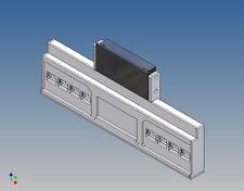 HSTKW4 - Heckstoßstange zu Tamiya Kühlauflieger 1:14  für 2x4 LEDs + Wedico LG
