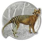2021 Solomon Islands $2 Tasmanian Tiger 1 oz Silver Coin - 2,021 Made