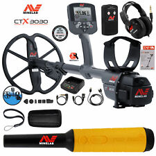 Minelab Ctx 3030 Ultimate Waterproof Metal Detector with Pro Find 35 Pinpointer