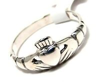 Sterling Silver Claddagh Ring Size 9 New