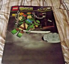 Lego Teenage Mutant Ninja Turtles banner sign X shop display 77cm x 55cm USED