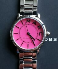 Marc Jacobs MJ3528 Roxy Watch With 28mm Pink Face & Silver Breclet.