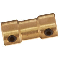 5X(RC Airplane 2mm to 3mm Brass Motor Coupling Shaft Coupler Connector M9N8)