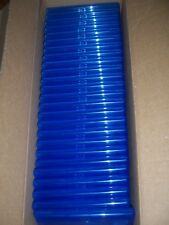 Lot of 25 2-Disc Blu Ray DVD Disc Cases with LOGO Blu-Ray Bluray Blue with Logo