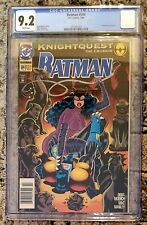 CGC 9.2 DC Comics BATMAN #504 (2/94) White Pages Newsstand CATWOMAN Knightquest