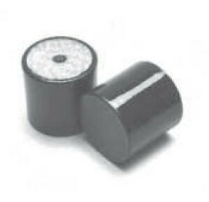 Large Simple Rubber Bump Stops - Female Thread M10 - M20