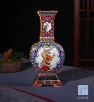 Unique Enamel Ceramic Vase Chinese Porcelain Antique Reproduction