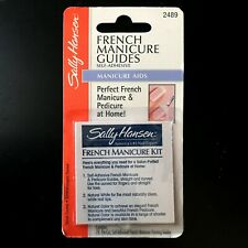 SALLY HANSEN* 78pc Pack FRENCH MANICURE GUIDES Self-Adhesive MANICURE AID #2489