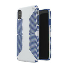 Speck Presidio Grip Case Cover for Apple iPhone Xs Max Grey/Blue