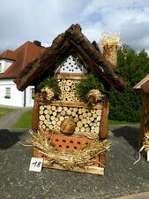 Insektenhotel für Wildbienen / Insekten und 1x Blumenwiese geschenkt  (18)